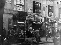 """Old Photo: """"Nalewki street"""" (Jewish Quarter)  Poland - Warsaw, 1930s"""