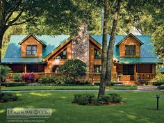 luxury log homes photos | Log-Home Lifestyle Desktop Backgrounds | Log Home Living | Log Home ...
