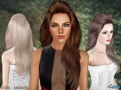 Emma's Simposium: Free Hair Pack #25 By Cazy - Donated/Gifted!!!