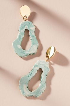 Amarah Resin Drop Earrings