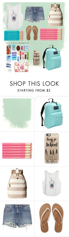 """Mystery~back to school"" by briezy-2 ❤ liked on Polyvore featuring JanSport, Casetify, Tommy Hilfiger, Alexander Wang and Aéropostale"