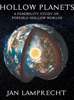 Book cover for Jan Lamprecht's Hollow Planets: A Feasibility Study of Possible Hollow Worlds Second Edition.