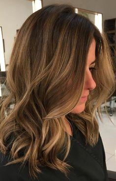 Lowlights und Highlights für Braun Haar für 2017  Smart Frisuren für Moderne Haar