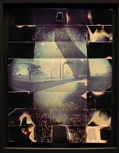 Thomas Hudson Reeve. Pinhole camera made with photosensitive paper.