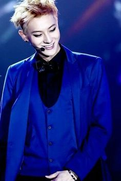 Image result for tao blue suit