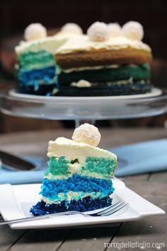 The Smurf Cake -- Torta Della Figlia