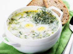 Buy Hash soup by oksix on PhotoDune. Spring hash soup in white bowl on the green napkin Cheeseburger Chowder, Hummus, Mashed Potatoes, Food And Drink, Soup, Vegetarian, Ethnic Recipes, Food Time, Recipes