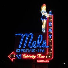 Neon: EAT Mels Drive-In Celebrity Bar Cocktails