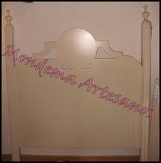 Cabecero de cama de 105 en madera lacada