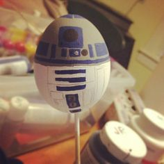 Is there anything cuter than this R2-D2 Easter Egg?