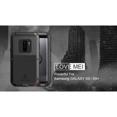Amour Mei Samsung Galaxy S9 Case Antichoc Couverture Métal Cadre Silicone Entièrement Corps Dos Couverture