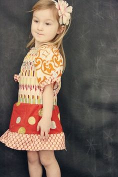 Free patterns for girls dresses