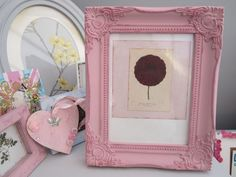 A real 'Vintage' piece to add charm and wow to any home. The Dusky Pink Frame comes complete with a Botanical Rose Print mounted on Artists Canvas but would look equally good with. Artist Canvas, Handmade Crafts, Artists, Rose, Pink, Vintage, Home Decor, Decoration Home, Room Decor
