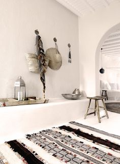 Bohemian chic, images by San Giorgio hotel Mykonos