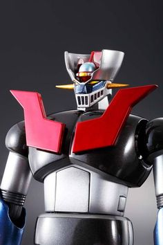 """Bandai Tamashii Nations Soul of Chogokin """"Mazinger Z"""" Action Figure How do you commemorate 40 years of incredible Chogokin history? Tamashii Nations goes back Retro Cartoons, Super Robot, 40th Anniversary, Force Of Evil, Action Figures, Childhood, Anime, The Incredibles, Japanese"""