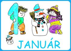 Január Weather Seasons, Baby Care, Disney Characters, Fictional Characters, Clip Art, Comics, Blog, Colouring, Spanish