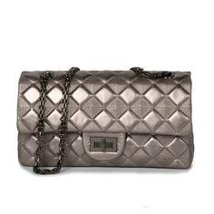 71.24$  Watch here - http://ali9dk.shopchina.info/go.php?t=32787501801 - 2017 NEW Women Fashion Classic Chain Quilted Bag Trendy Classy Black And Light Grey Shoulder Bag Sheepskin Handbag Crossbody Bag 71.24$ #buyonline