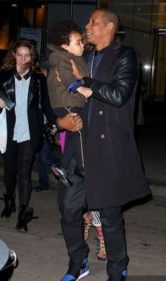 Jay-Z and Blue