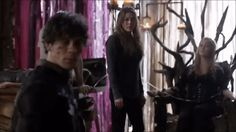 this scene is important. abby, clarke, murphy are waiting for bellamy to get to clarks's side before starting with the initiation. nobody is questioning what bell is doing there, or why he isn't with the others securing the building. they know clarke needs him by her side, it's just natural and yet so powerful. abby asks if he is ready, cause they are. so he runs to her side because the only reason he is there for is to comfort her. she needs his hand, and he is there to hold her…