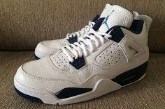 1529dcfb78b077 Legend Blue Air Jordan 4 Retro Remastered Cheap Jordan Shoes