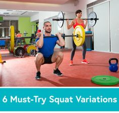 6 Must-Try Squat Variations