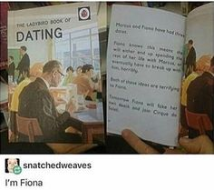 Fiona learns to date.