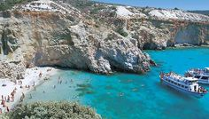 Crete, one of the Greek islands. British Beaches, Exotic Beaches, Places To Travel, Places To See, Malta Beaches, Crete Greece, Andros Greece, Greece Islands, Beaches In The World