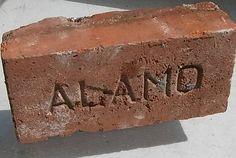 "Antique Brick Paver ""ALAMO"" San Antonio ,TX!  Historic Preservation Product RARE #AlamoBrickCompany"