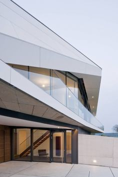 Exterior detail of L House in Austria by Architects Collective