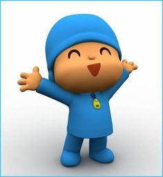 "<3: Pocoyo -- roughly translated from Spanish as ""little me."" He's a cute, animated 4-year-old boy full of curiosity who loves to play games and discover new things."