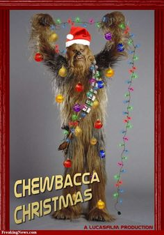 Actually, according to the Star Wars Christmas special (which looks sucky by the way, why George Lucas, why?) Wookies celebrate Life Day :)