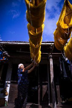 Làng ươm tơ Cổ Chất  #VietNam #Travel #NamDinh #CoChat #SilkReeling #TraditionalVillage