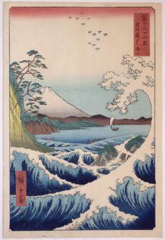 Ichiryusai Hiroshige, 1855
