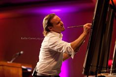 """artist to artist. dear kellie davis carter. it was a pleasure collaborating with you in Lexington yesterday. thanks for sharing your skillZ. #rockon    """"I truly enjoyed experiencing your motivational message and witnessing your artistic talent today in Lexington! Very inspiring!"""" - Kellie Davis Carter"""