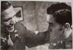 Dick Winters and Harry Welsh