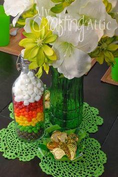 Simple, Inexpensive DIY St. Patrick's Day Decor