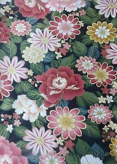 GION by Anna Fishkin for Red Rooster~Asian~Floral~Cotton Fabric Quilt Sew F313