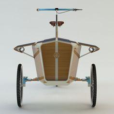 Sun Bike -  Green Cargo Bike Powered by Solar Energy by Romain Duez, Gauthier Richard, Pierre Vioules, Rémi Legrain, Xavier Lefol, Elodie Fauvelet