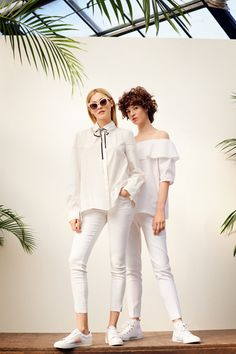 BestSecret - Europe's most exclusive shopping community White Jeans, Branding Design, Pants, Shopping, Fashion, Moda, Trousers, Fashion Styles, Brand Design