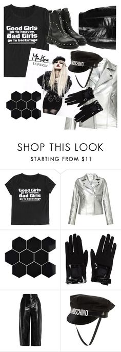 """Not your kind"" by sunnydays4everkh ❤ liked on Polyvore featuring Miss Selfridge, Merola, Miu Miu, MSGM, Moschino, Versace and MyFaveTshirt"