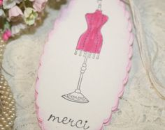 Vintage Dress Form - Merci -  French Inspired