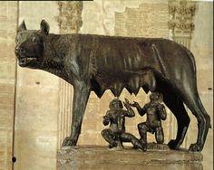 Volgens de overlevering is de stad Rome in 753 voor Christus ontstaan. Hij werd gesticht door de tweeling Romulus en Remus.