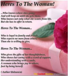 Happy International Women's Day to all my sisters everywhere!