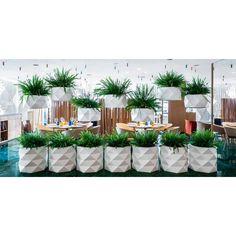 Marquis Planter, Outdoor Lighted Furniture Design at Cassoni.com