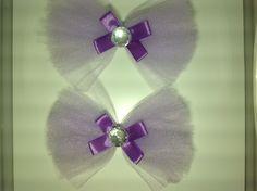 Lavander bows
