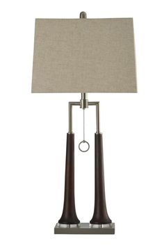 Eamon Contemporary Single Ring Pull Chain Table Lamp #shopgahs #lamps #tablelamp #lamp #lighting #livingroom #diningroom #bedroom #entryway #hallway #familyroom #office #homeoffice #guestroom