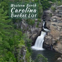 Western North Carolina is the picturesque mountainous region of the state most well-known its abundance of awe-inspiring wonders. The region is . Western North Carolina, Travel List, Waterfalls, Lakes, State Parks, Adventure Travel, Things To Do, Random, Outdoor