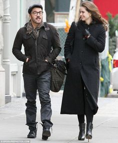 No wonder he's smiling! A cheery Jeremy Piven headed for lunch with a female friend in New York as news emerged that Mr Selfridge has been renewed for a second season