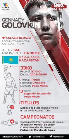 El kazajo se encuentra ante uno de los duelos más importantes de su carrera y aquí algunos datos del rival de Saúl 'Canelo' Álvarez