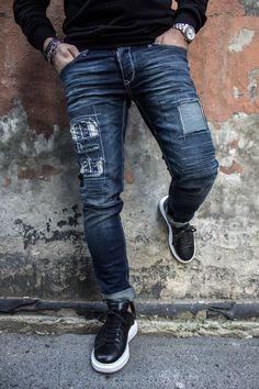 Denim Jacket Men, Denim Jeans Men, Men Shorts, Denim Jackets, Slim Fit Mens Jeans, Sperrys Men, Business Casual Outfits, My Guy, Fashion Wear